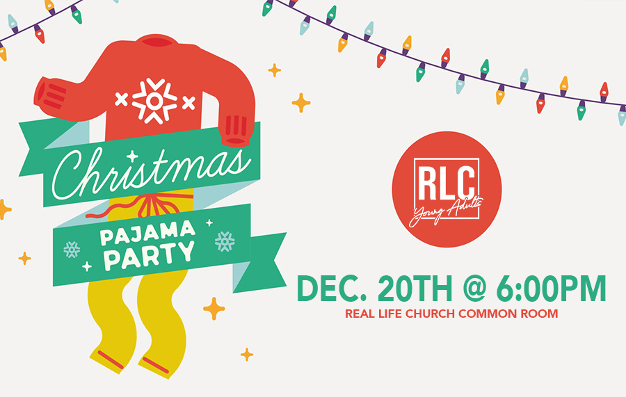 Young Adults Christmas PJ Party