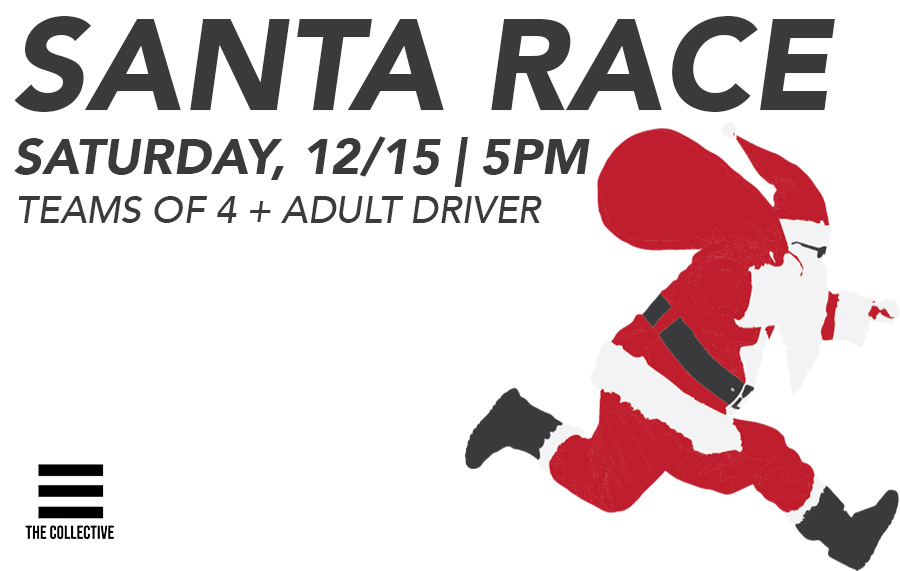 Youth Santa Race (Amazing Race Style)