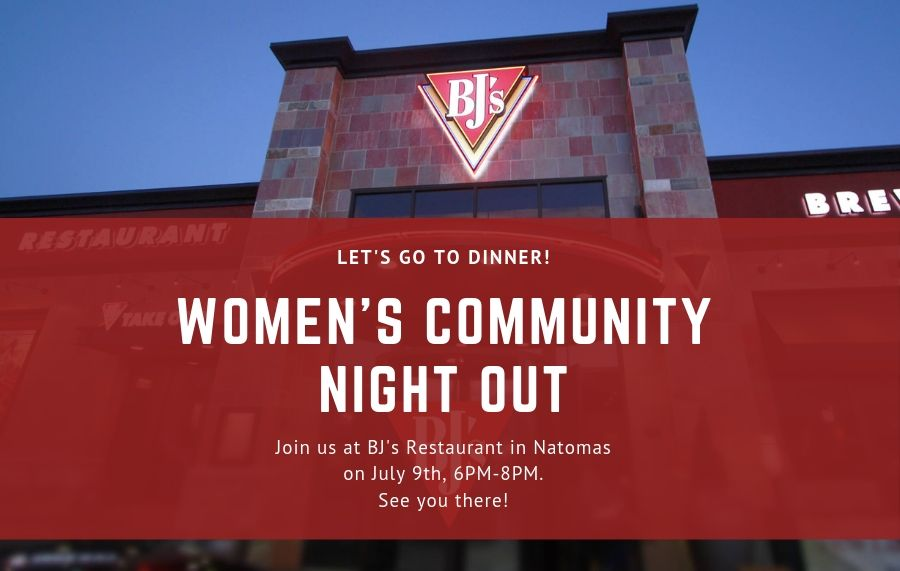 Women Night Out- Dinner at BJ's